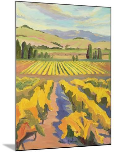 Cline Golden Harvest-Kay Carlson-Mounted Premium Giclee Print