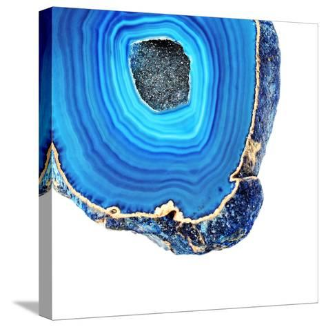 Lapis Lazuli Agate A--Stretched Canvas Print