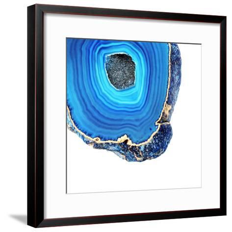 Lapis Lazuli Agate A--Framed Art Print