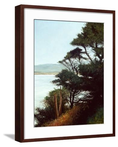Carmel Bay-Miguel Dominguez-Framed Art Print
