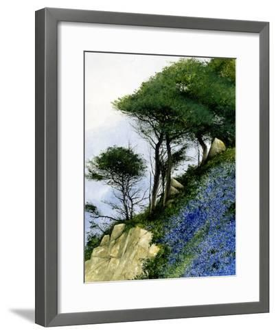 Spring on a Slant-Miguel Dominguez-Framed Art Print