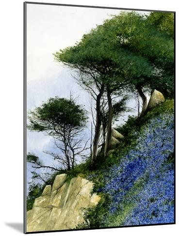 Spring on a Slant-Miguel Dominguez-Mounted Premium Giclee Print