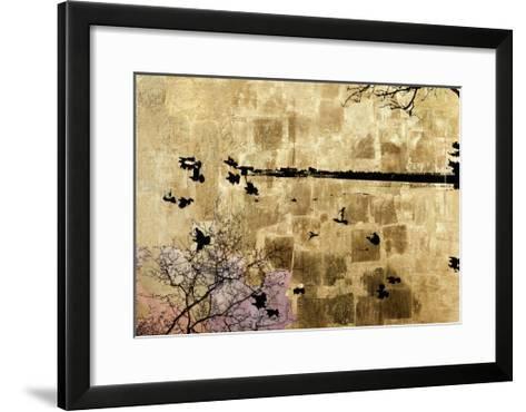 Golden Bay of the Whaling City-Tracy Silva Barbosa-Framed Art Print