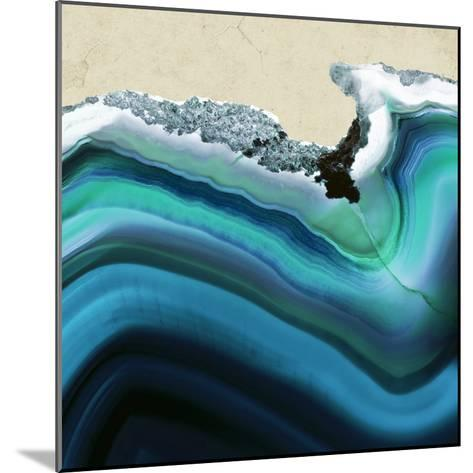 Turquoise Agate B--Mounted Premium Photographic Print