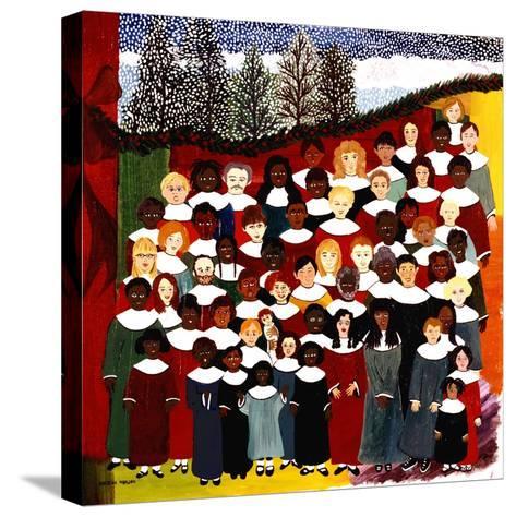 Harmonize-Kristin Nelson-Stretched Canvas Print