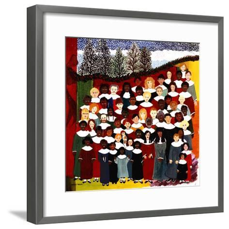 Harmonize-Kristin Nelson-Framed Art Print