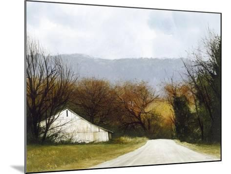 A Drive Through Fall-Miguel Dominguez-Mounted Premium Giclee Print