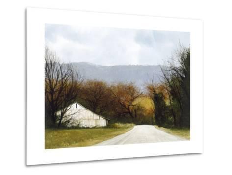 A Drive Through Fall-Miguel Dominguez-Metal Print