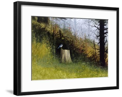 Bluebird-Miguel Dominguez-Framed Art Print