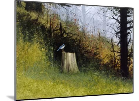 Bluebird-Miguel Dominguez-Mounted Premium Giclee Print