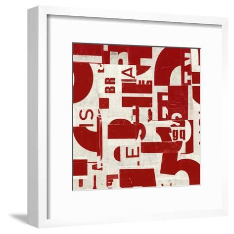 Systematic-JB Hall-Framed Art Print