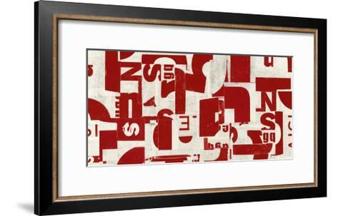 Tailored-JB Hall-Framed Art Print