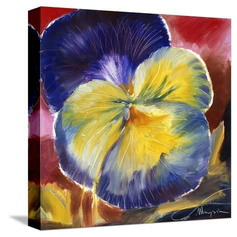 Hot Blooms VI--Stretched Canvas Print