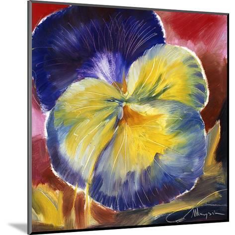 Hot Blooms VI--Mounted Premium Giclee Print