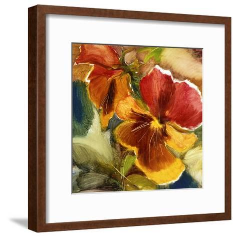 Hot Blooms VII--Framed Art Print