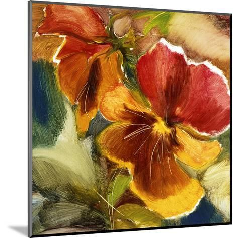 Hot Blooms VII--Mounted Premium Giclee Print