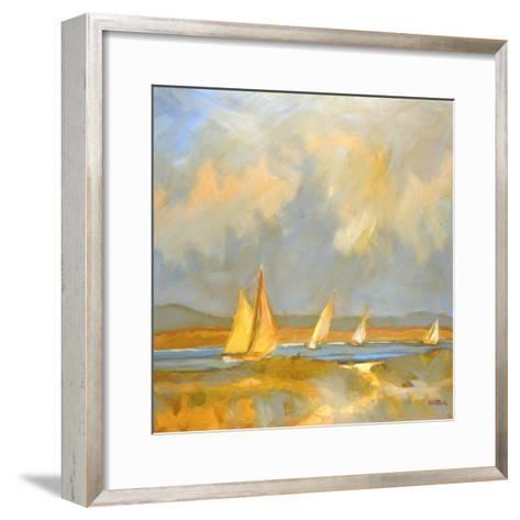 Whidbey Island Beach-Don Tiller-Framed Art Print