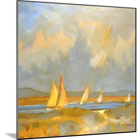 Whidbey Island Beach-Don Tiller-Mounted Premium Giclee Print