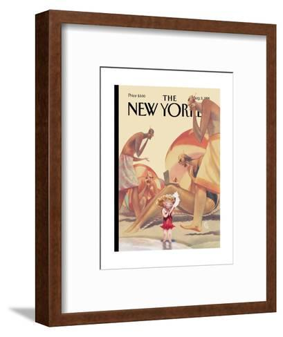 The New Yorker Cover - August 3, 1998-Carter Goodrich-Framed Art Print