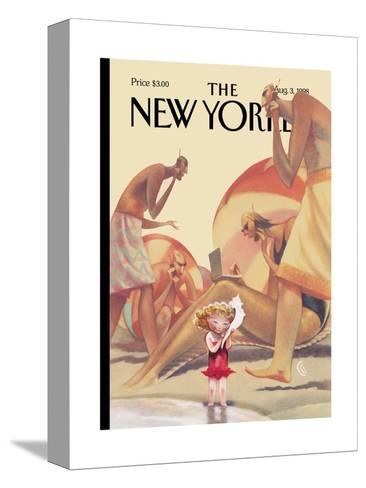 The New Yorker Cover - August 3, 1998-Carter Goodrich-Stretched Canvas Print