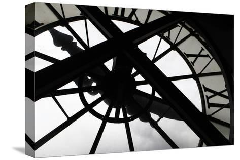 Clock at Musee D'Orsay, Paris, France-Kymri Wilt-Stretched Canvas Print