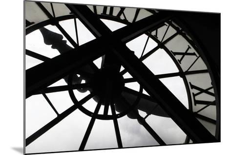 Clock at Musee D'Orsay, Paris, France-Kymri Wilt-Mounted Photographic Print