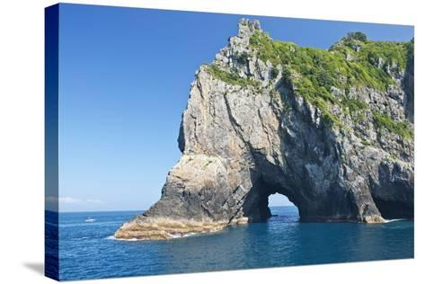 New Zealand, North Island, Bay of islands, Hole in the Rock-Rob Tilley-Stretched Canvas Print