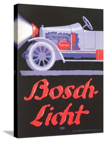 Ad for German Automotive Electrics--Stretched Canvas Print
