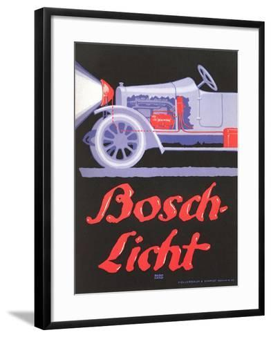 Ad for German Automotive Electrics--Framed Art Print