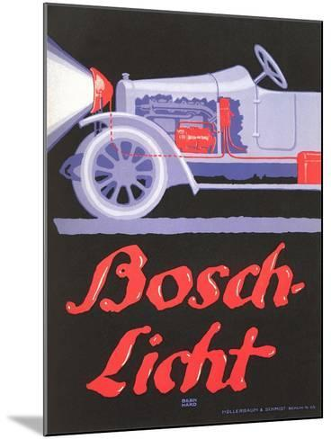 Ad for German Automotive Electrics--Mounted Art Print