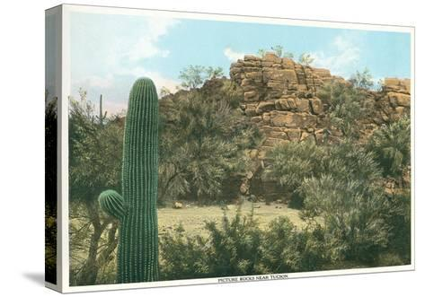 Picture Rocks Near Tucson--Stretched Canvas Print