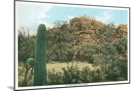 Picture Rocks Near Tucson--Mounted Art Print
