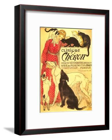 Clinique Cheron, Vet--Framed Art Print