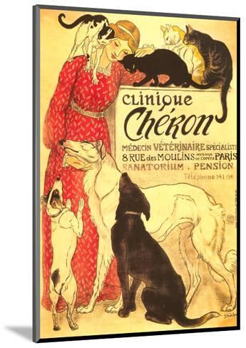 Clinique Cheron, Vet--Mounted Art Print