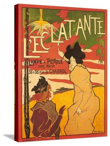 L'Ectalante--Stretched Canvas Print
