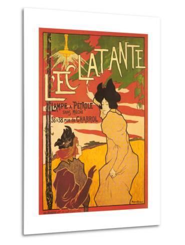 L'Ectalante--Metal Print
