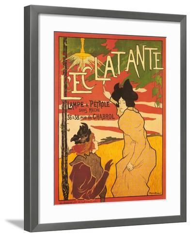 L'Ectalante--Framed Art Print
