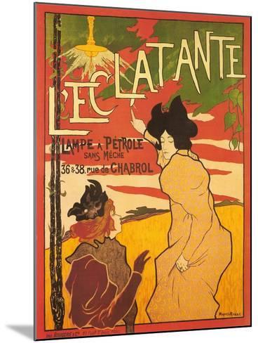 L'Ectalante--Mounted Art Print