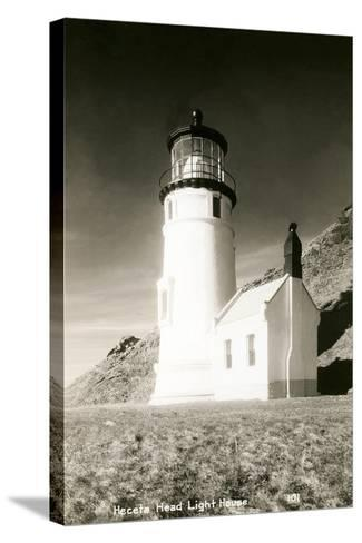 Heceta Head Lighthouse--Stretched Canvas Print