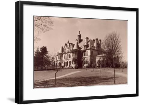 Denny Hall, University of Washington--Framed Art Print