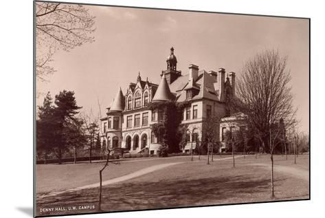 Denny Hall, University of Washington--Mounted Art Print