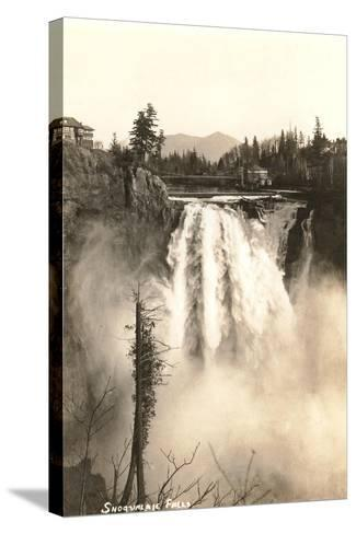 Snoqualmie Falls--Stretched Canvas Print