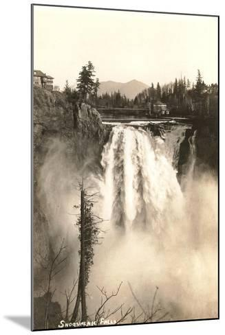 Snoqualmie Falls--Mounted Art Print