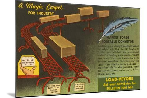 Market Forge Portable Conveyor Belt--Mounted Art Print