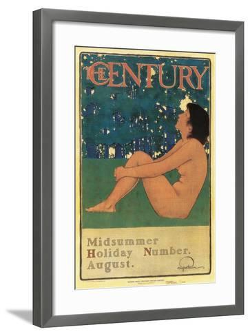 Century Poster, Midsummer--Framed Art Print