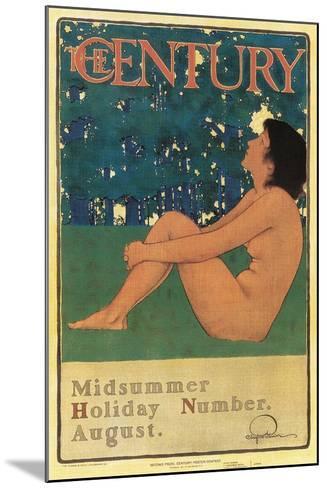 Century Poster, Midsummer--Mounted Art Print