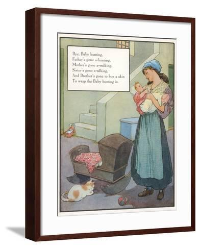 Lullaby, Mother and Child--Framed Art Print