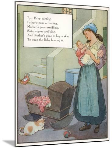 Lullaby, Mother and Child--Mounted Art Print