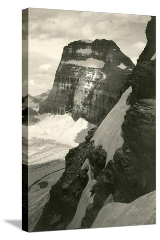 Grinell Glacier--Stretched Canvas Print
