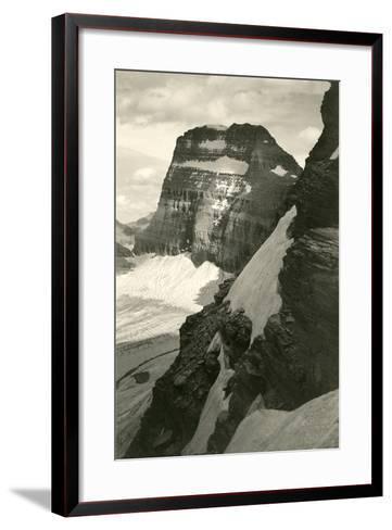 Grinell Glacier--Framed Art Print